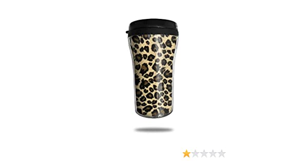 fe3870bf11e Amazon.com | FTRGRAFE Animal Leopard Print Design Travel Coffee Mug 3D  Printed Portable Vacuum Cup, Insulated Tea Cup Water Bottle Tumblers For  Drinking ...