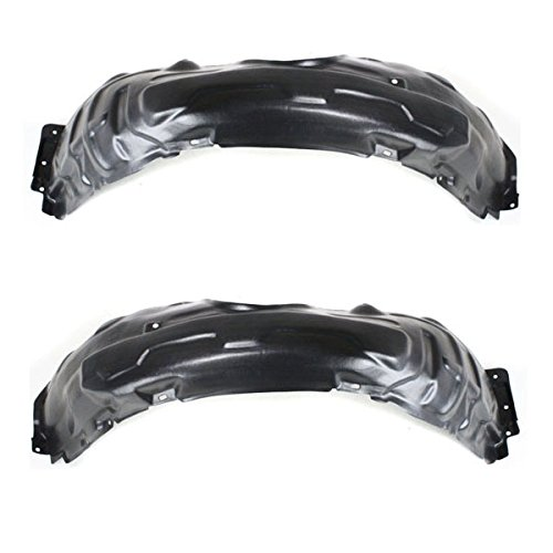 Koolzap For 02-06 ES300 & ES330 Front Splash Shield Inner Fender Liner Left & Right SET PAIR (Lexus Es300 Sedan)