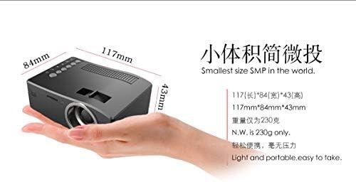 YIZHANGMini Proyector de teléfono portátil Micro Home Proyector de ...