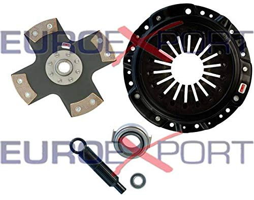 Competition Clutch Disc and Pressure Plate Kit for Honda S2000 2000-2009 Ceramic 4 Puck Rigid/Solid Stage 5 8023-0420