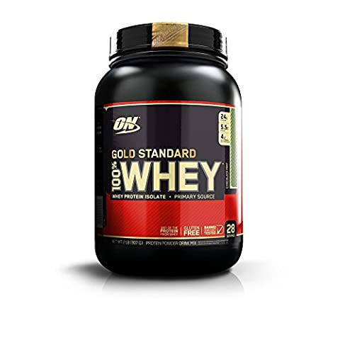 Optimum Nutrition Gold Standard 100% Whey Protein Powder, Chocolate Mint, 32 Ounce - Gold Standard Chocolate