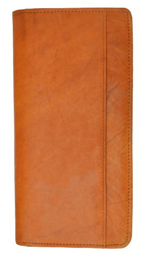 8603ef041210 Amazon.com: Zip Around Leather Travel Wallet with Passport and Boarding  pass Holder by Marshal: Clothing