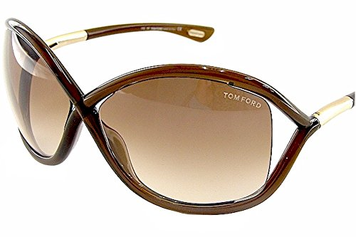 Tom Ford Whitney TF 9 692 Dark Brown / Brown Gradient -  664689371143