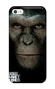 Nuevo amanecer de la planeta de la carcasa de Tpu simios Compatible con iphone 5/5S