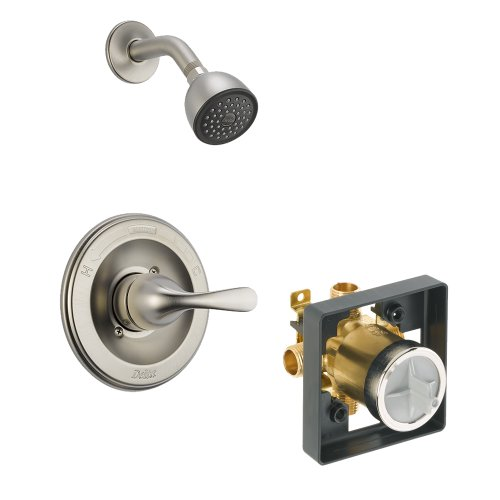 Pressure Shower Classic Balance (Delta Delta KSDCL-T13220-SS Classic Shower Kit Pressure-Balance Single-Function Cartridge, Brilliance Stainless Brilliance Stainless)