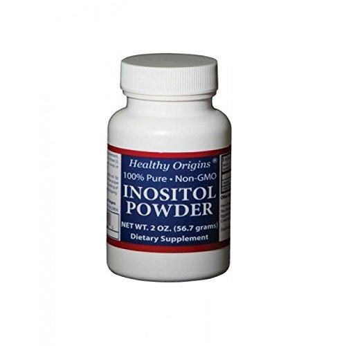 Healthy Origins Inositol Powder 2 oz ( Multi-Pack)