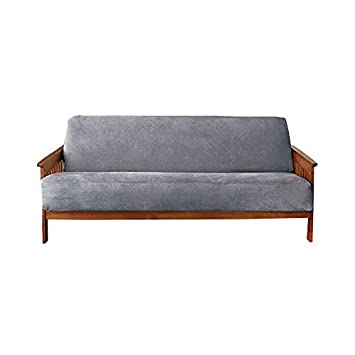 Amazon.com: Sure Fit suave ante Woven futon Slipcover ...