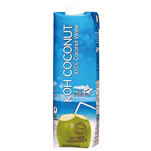 KOH Coconut 100% Coconut Water (1 L, 12 pk.) by KOH Coconut
