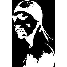 Snoop Dogg WHITE Vinyl Car/Laptop/Window/Wall Decal