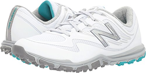New Balance Women's Minimus Sport Golf Shoe, White, 8 B B US