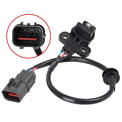 Autex 1pc Cam Camshaft Position Sensor MD300102 PC45 5S1354 SU373 compatible with Chrysler Sebring 1996/Dodge Avenger 1995 1996 1997/Mitsubishi Eclipse 1994 1995 1996/Mitsubishi Galant 1994 1995