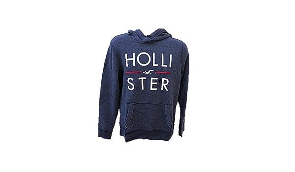 Hollister - Sudadera con Capucha - para Hombre Azul Azul Small: Amazon.es: Ropa y accesorios