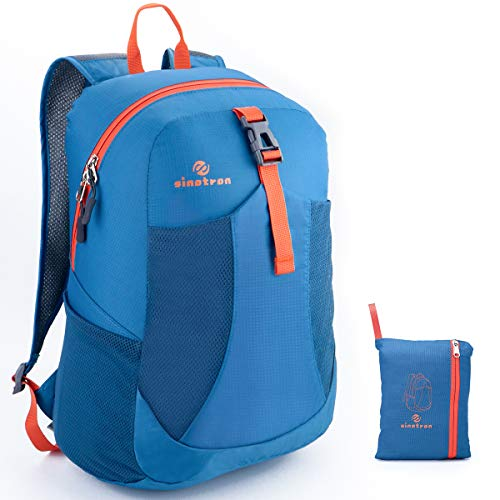 sinotron Ultra Lightweight Packable Backpack Travel Hiking Small Daypack -Foldable Day Pack for Travel Camping Outdoor
