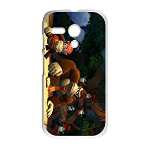 Motorola G Cell Phone Case White Donkey Kong Country Tropical Freeze Q5R2YN