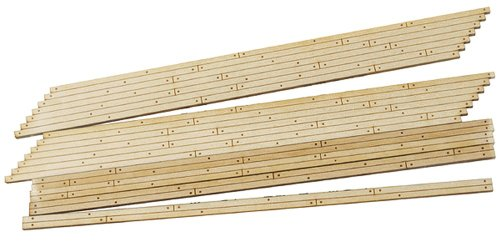 Scale Wood Grade Crossing - HO Laser Cut Wood Grade Crossing, Right Angled (2)