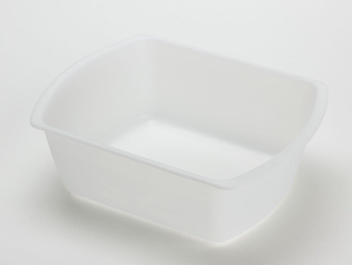Medline Industries DYNEC80347C Washbasins, Rectangular, Plastic, 6 quart, Clear (Pack of 50)