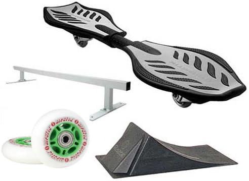 Razor Ripstik シルバー キャスターボード スケートボード デラックスアクセサリーキット付き
