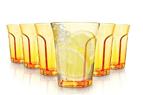 tivoli bicchieri  Tivoli Bicchieri Colorati/Set da 6/260 ml/Bicchieri per Acqua/In ...