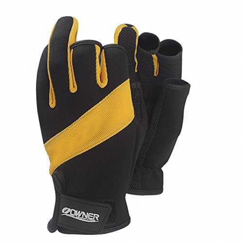 Duework premium 3 cut fingers fishing hunting gloves for Cold weather fishing gloves