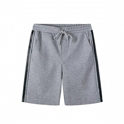 Moda Casuales Lingzhigan Deportivos Pantalones Verano De Coreanos Hombres Nuevos Juventud Gris Cortos EzTTqB