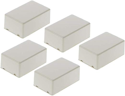 Gwxevce 5Pcs Nueva Caja de Instrumentos electrónica de plástico Caja de Instrumento de Caja DIY 70x45x30mm: Amazon.es: Hogar