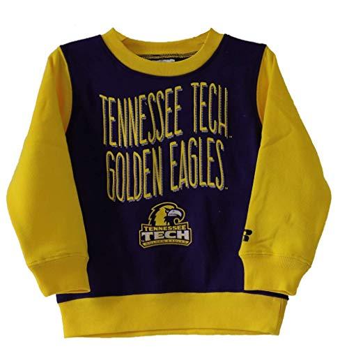 Russell Apparel NCAA Tennessee Technological University Crew Neck Fleece Sweatshirt - University Tennessee Technological