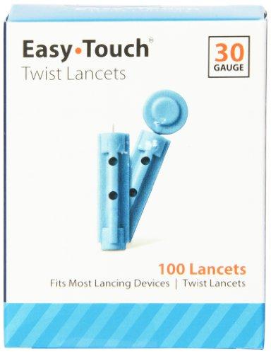 EasyTouch 830101 Twist Lancet, 100 Count