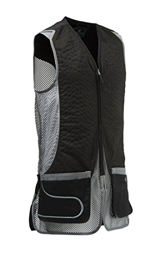 Beretta Men's Dt11 Mesh Eco Suede Vest, Black/Grey, XX-Large ()