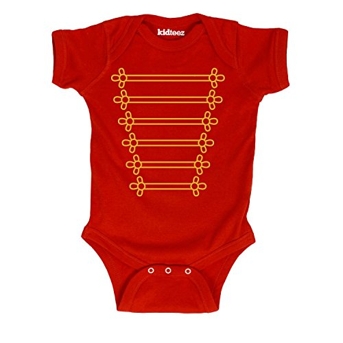[Marching Band Jacket Tuxedo Tee Costume Novelty Cute Infant Outfit Baby Bodysuit] (Mom Dad And Child Halloween Costumes)