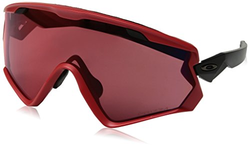 - Oakley Men's Windjacket 2.0 Sunglasses,OS,Viper Red/Prizm Snow Torch
