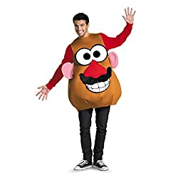 Disguise Mr./Mrs. Potato Head Deluxe AdultMultiXL (42-46) Costume