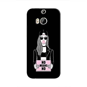 Cover It Up - No Means No One M9 Plus Hard Case