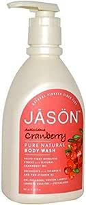 Jason Natural Pure Natural Body Wash Antioxidant Cranberry 30 fl oz 887 ml
