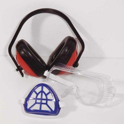 Mauk 1509 Sicherheitsset: Gehör-, Augen- und Mundschutz