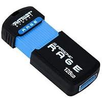 Patriot Memory PEF128GSRUSB 128GB Supersonic Rage XT USB 3.0 Flash Drive - Retractable, Drop Proof, Wear Resistant