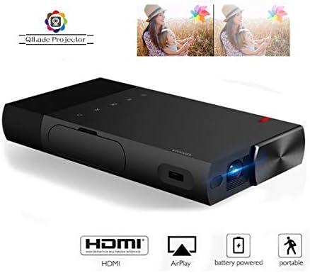 Proyector portátil Ultra Mini 1080p Proyector Pico Recargable HD ...
