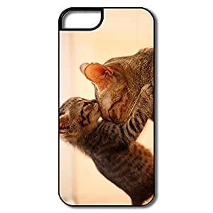 IPhone 5S Case, Cat White/black Cover For IPhone 5/5S