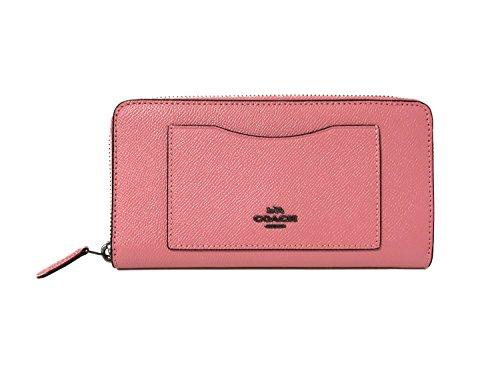 Coach Crossgrain Leather Accordion Zip Wallet ()