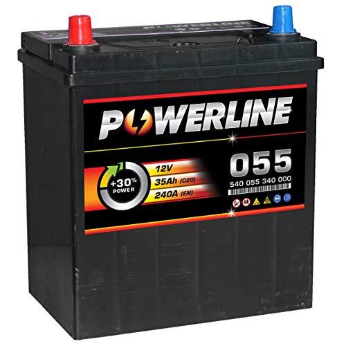 055 Powerline Car Battery 12V: