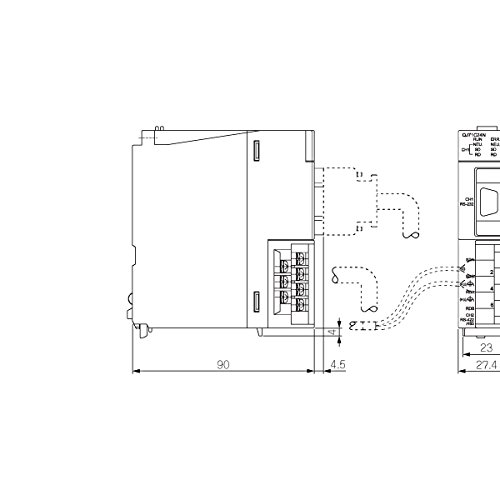 MITSUBISHI ELECTRIC QJ71C24N Serial Communication Modules (RS-422/485-compliance) NN