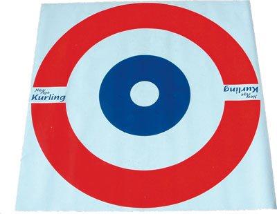 New Age Kurling Zielscheibe, Vinyl