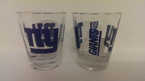 New York Giants Nfl Glass - Single Shot Glass NFL New York Giants