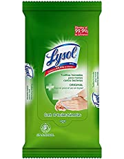 Lysol Toallitas Antibacteriales para Manos
