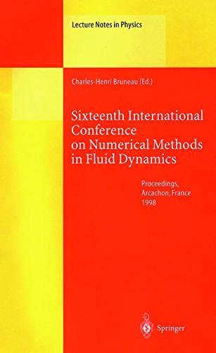 Sixteenth International Conference on Numerical Methods in Fluid Dynamics: Proceedings of the Conference Held in Arcacho