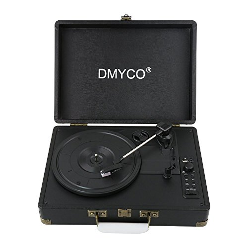 DMYCO Bluetooth Portable Turntable Headphone product image
