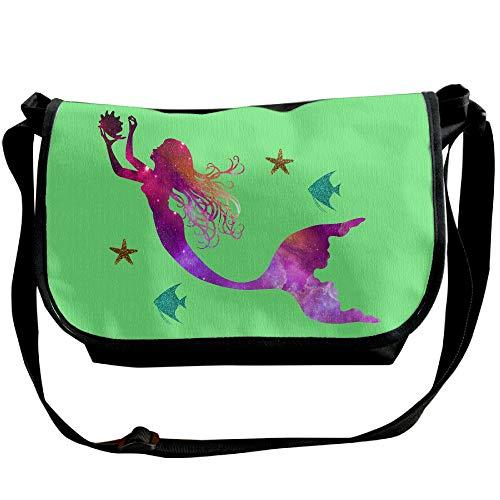 Fashion Mens Bag Star Handbags Casual Fish Black Designer Mermaid Messenger Sling Bag nx0qTO0wd