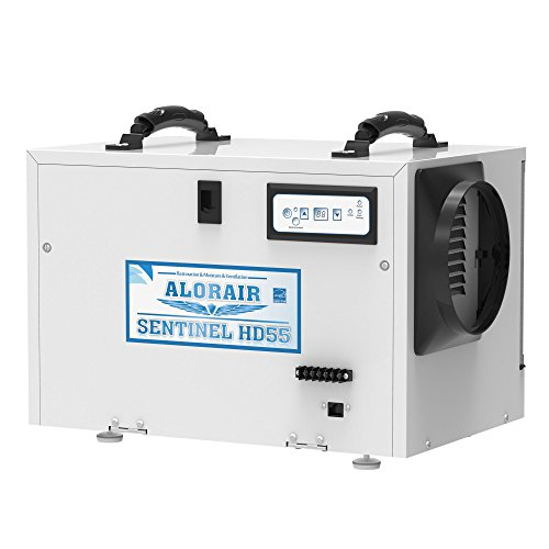 Hot Gas Valve Coil - AlorAir Basement/Crawlspace Dehumidifiers Removal 120PPD (Saturation) 55 PPD (AHAM), 5 Years Warranty, HGV Defrosting, cETL and Energy Star Listed, Epoxy coating, up to 1,300 Sq. Ft, Remote Monitoring