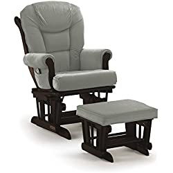 Shermag Glider Rocker Combo, Espresso with Grey