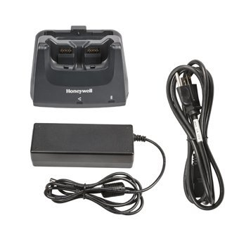 Honeywell CT50-HB-1 Home Base Kit for CT50 Handheld Mobile Computer, Includes Power Supply and Power Cord, Requires USB Cable Type B to Type A Cable by Honeywell