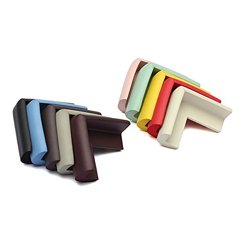 Safety Gear - Extra Thick Baby Table Desk Corners Cushion Guard Protector Foam - Buffer Sentry Duty Guardian Shock Ward Absorber Bodyguard Defender Soften Defend - 1PCs